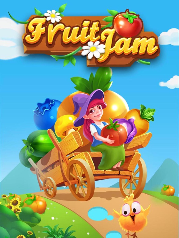 Fruit Jam - Match 3 toonのおすすめ画像5