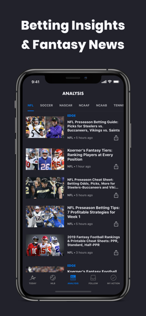 Action Network Sports Betting on the App Store