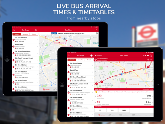 Screenshot #4 pour London Live Bus Countdown