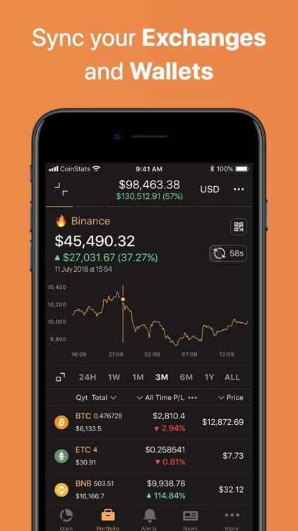 Coin Stats - Crypto Portfolio screenshot-3