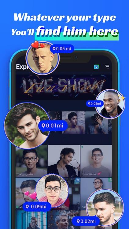 Blued- LIVE Gay Chat & Dating screenshot-4