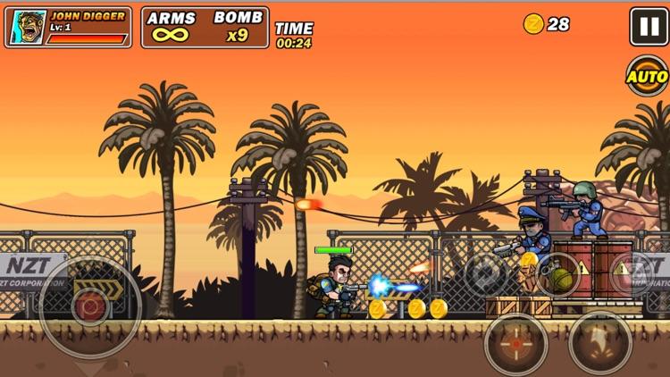 Metal commando slug gun Fire screenshot-4