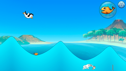 Racing Penguin: Slide and Fly!-3