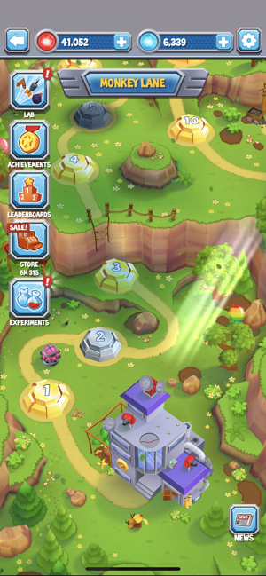 ‎Bloons Supermonkey 2 Screenshot