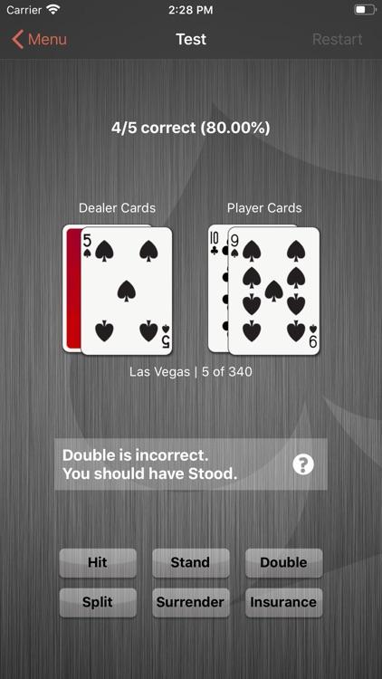 Learn Pro Blackjack Trainer screenshot-4