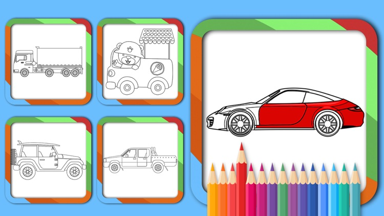 Cars Coloring Pages Game