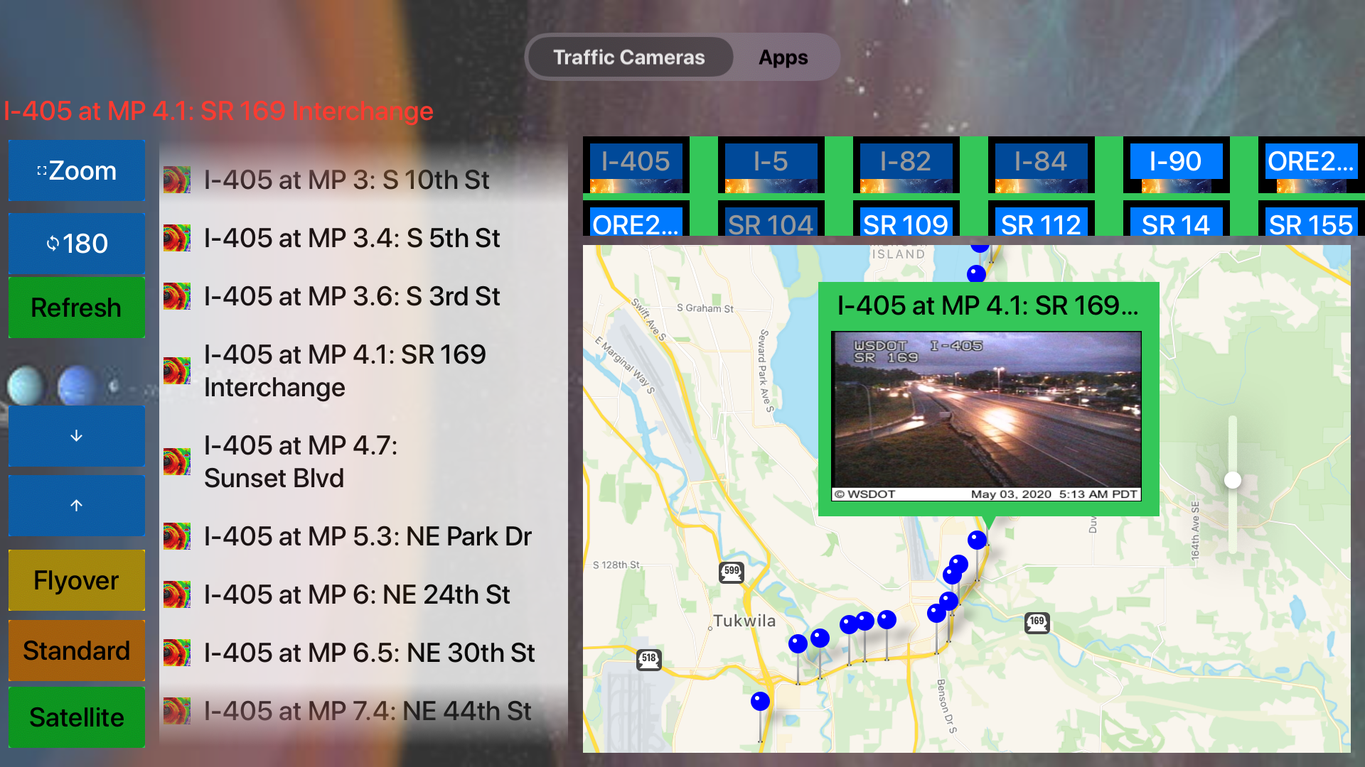 Traffic Camera Washington Pro screenshot 14
