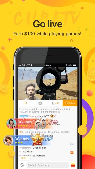 Cube TV – Live Games Community screenshot 3