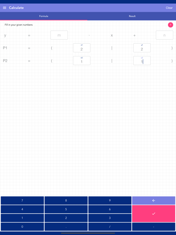 Solving Linear Equation PRO Screenshots