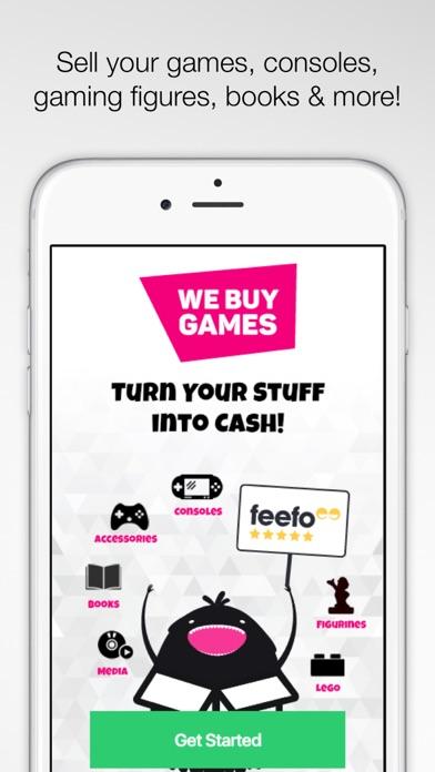 WeBuyGames screenshot one