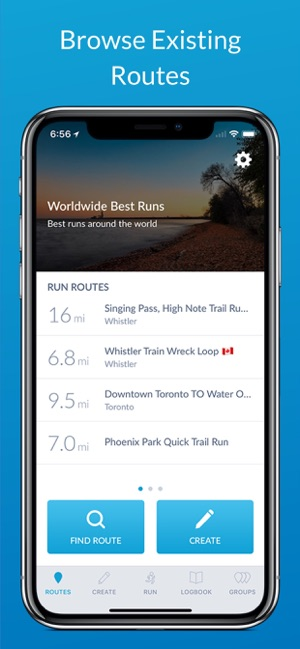 RunGo - The Best Routes to Run Screenshot