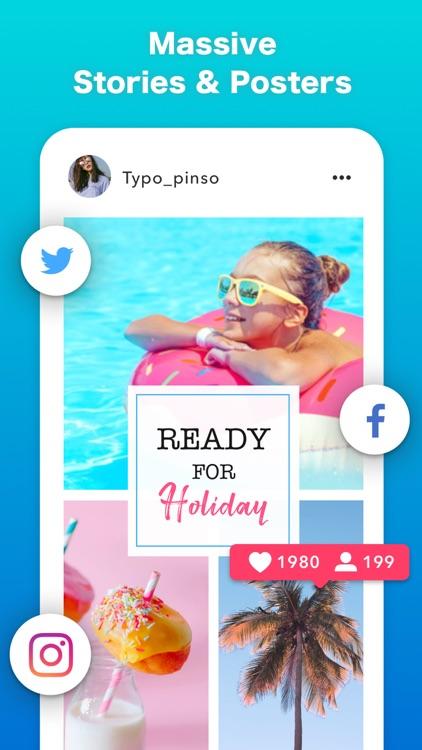 Pinso-Flyer & Poster Maker screenshot-6