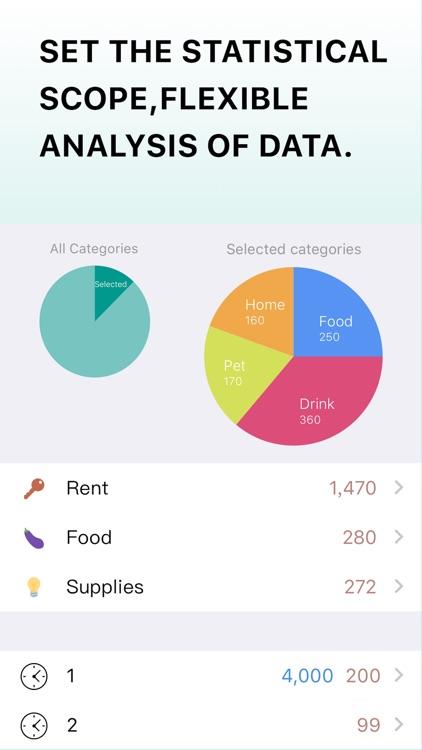 Receipt Box - Spending Tracker screenshot-3