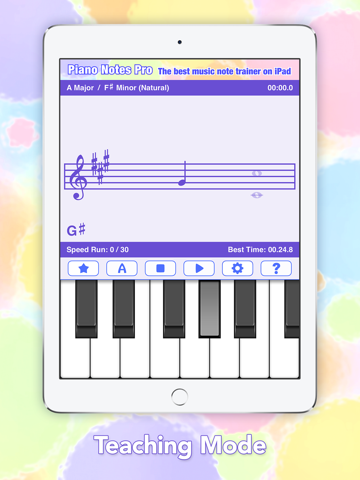 Piano Game - Music Flashcards - náhled