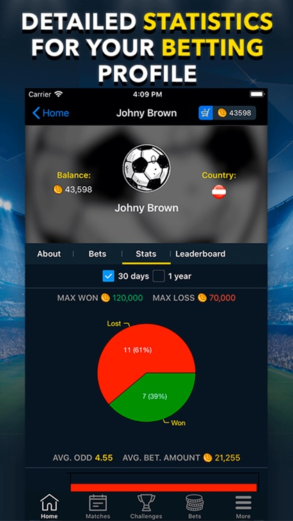 BETUP - Sports Betting Game screenshot-4