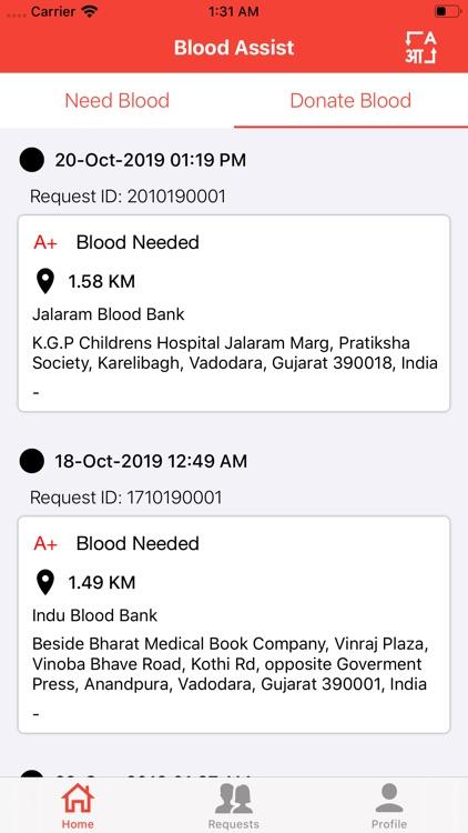 Blood-Assist screenshot-3