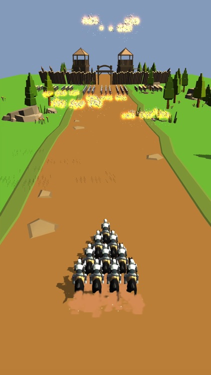 Horseman Rush 3D screenshot-4