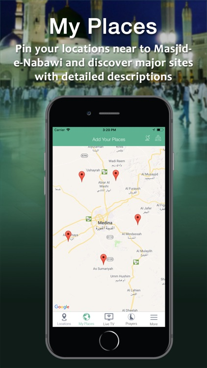 Madina Traveller Map Pro screenshot-1