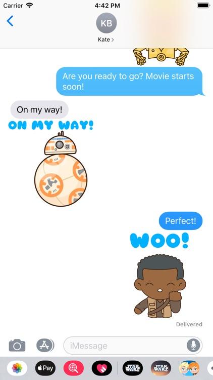 The Rise of Skywalker Stickers screenshot-3