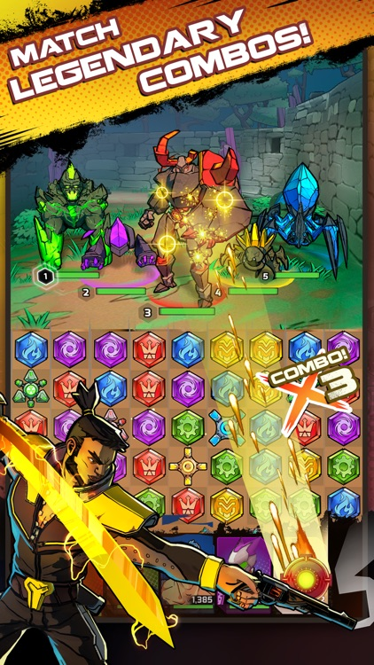 Puzzle Force: Match 3 RPG