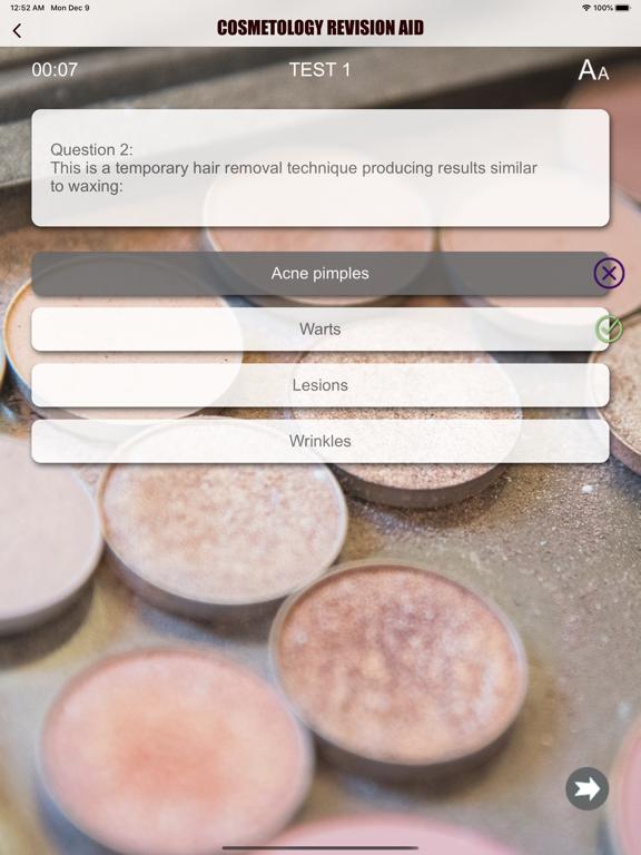 Cosmetology Exam Revision Aid screenshot 9