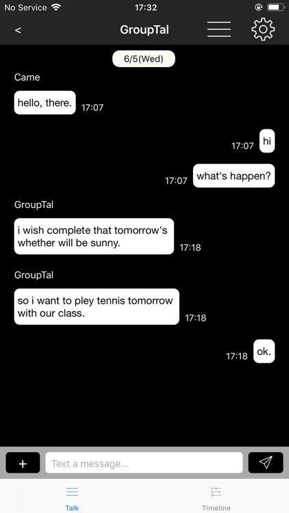 BLE Messenger screenshot-4