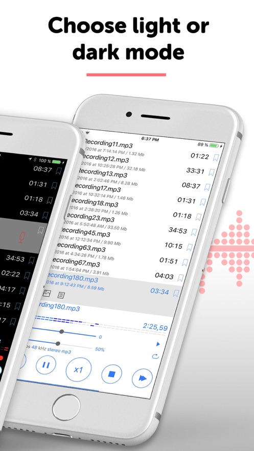 ALON Dictaphone - 录音机 App 截图