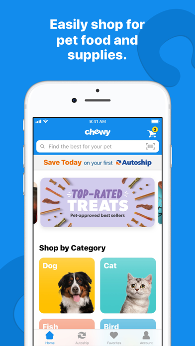 Screenshot for Chewy - Where Pet Lovers Shop in United States App Store