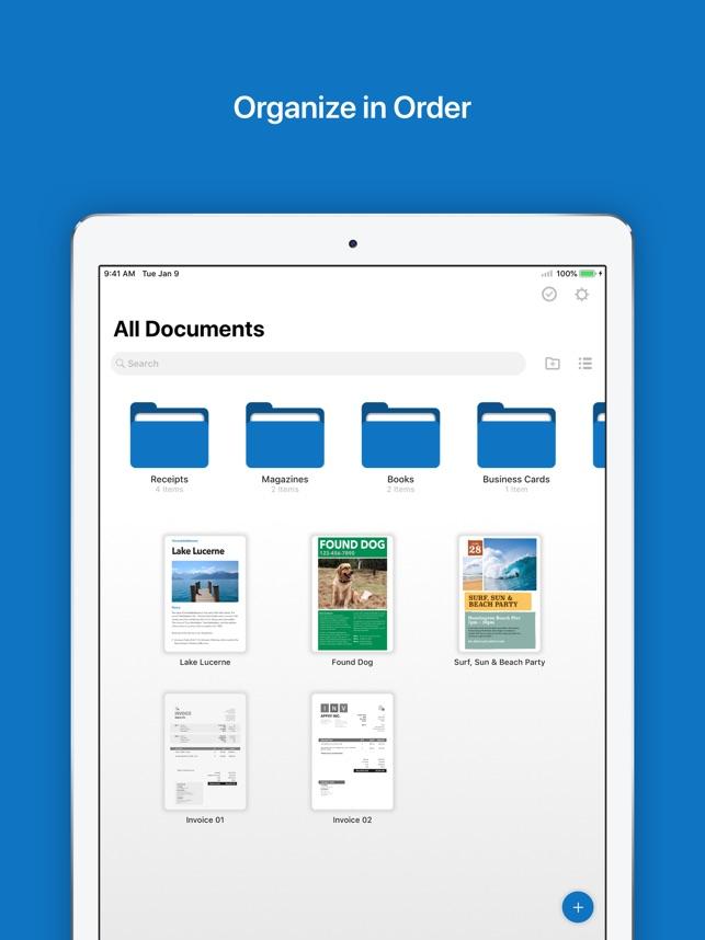 Scanner++ PDF Document Scan Screenshot