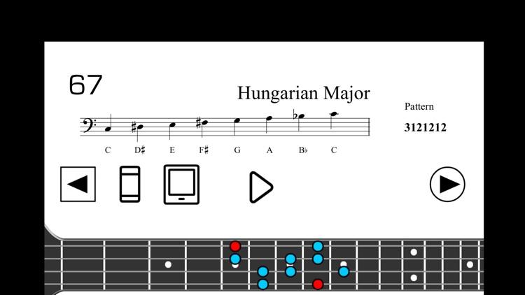 Bass Scales PRO screenshot-4