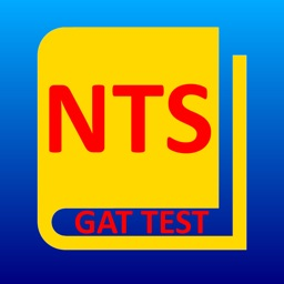 NTS GRE GAT Test Book