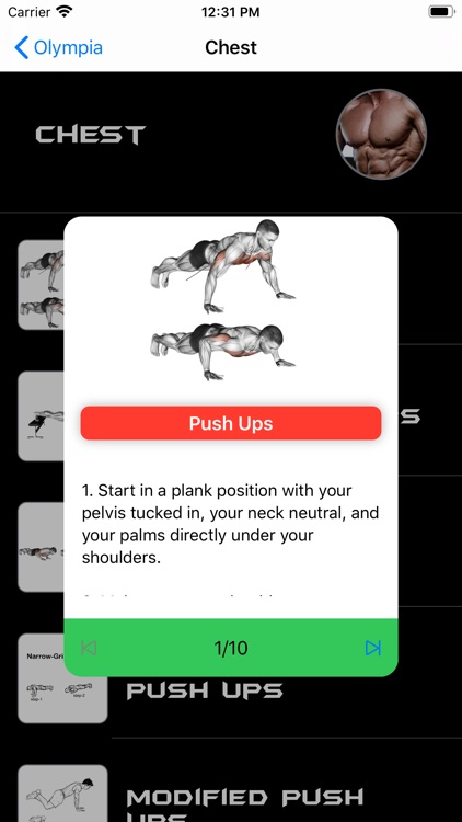 Olympia - Your Fitness Trainer screenshot-3