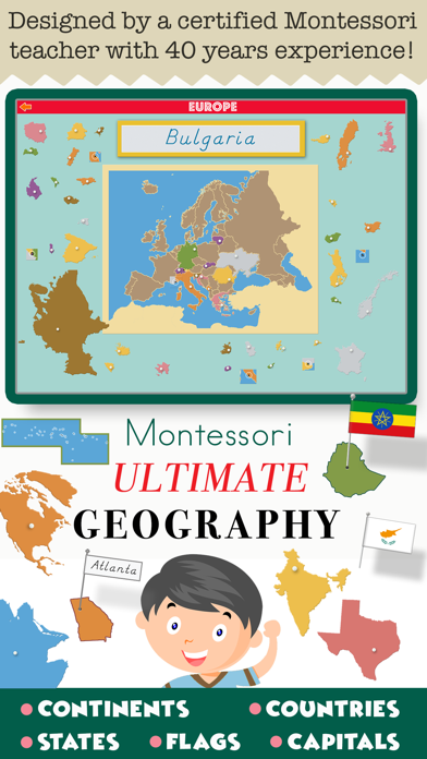 Montessori Ultimate Geography screenshot 1