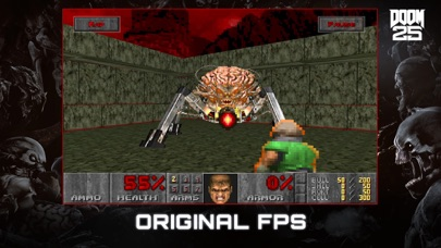 Screenshot from DOOM