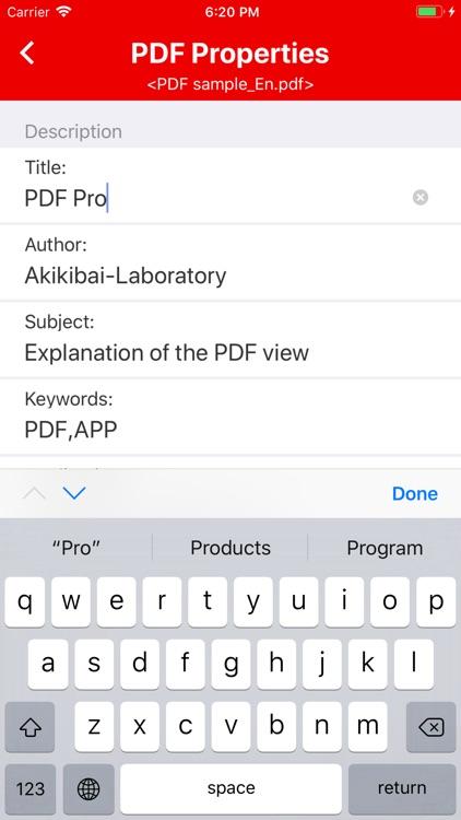 PDF Properties screenshot-3