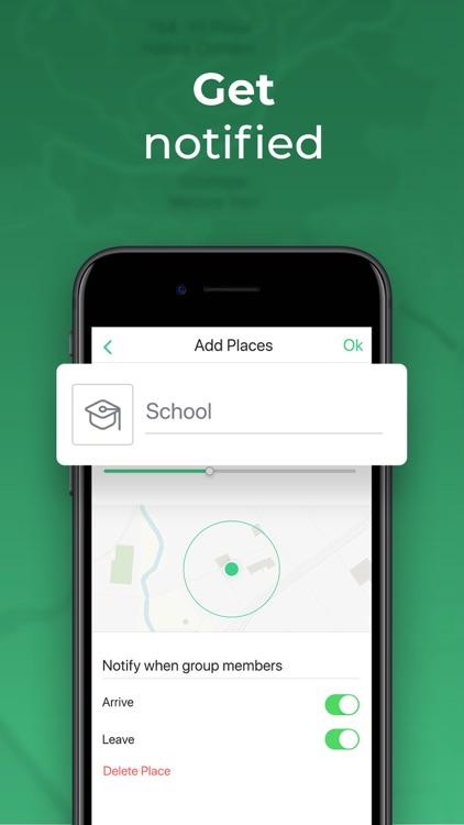 Hulahoop: Location Sharing screenshot-4