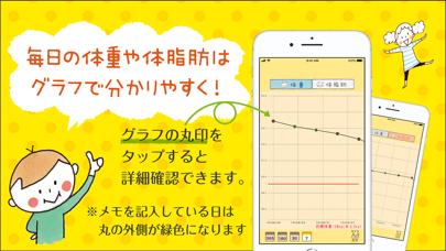 mizutamaさんの体重管理アプリのおすすめ画像2