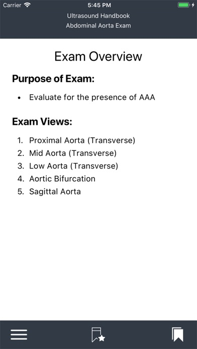 Emergency Ultrasound Handbook Screenshots