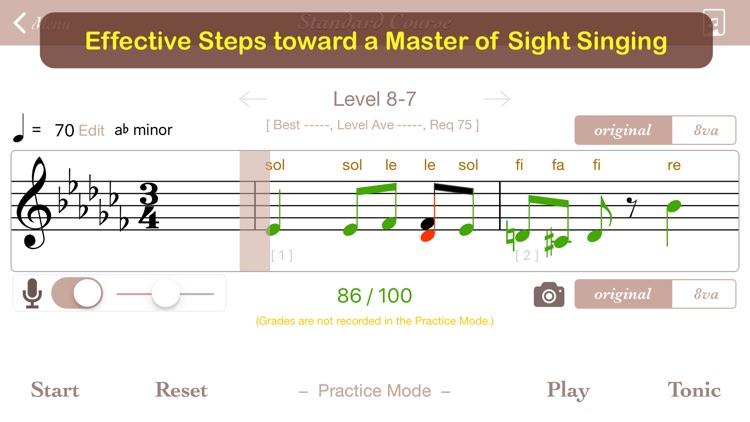 Sight Singing Steps - Full screenshot-0