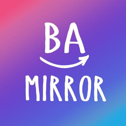 BA mirror-鏡&ビフォーアフターアプリ