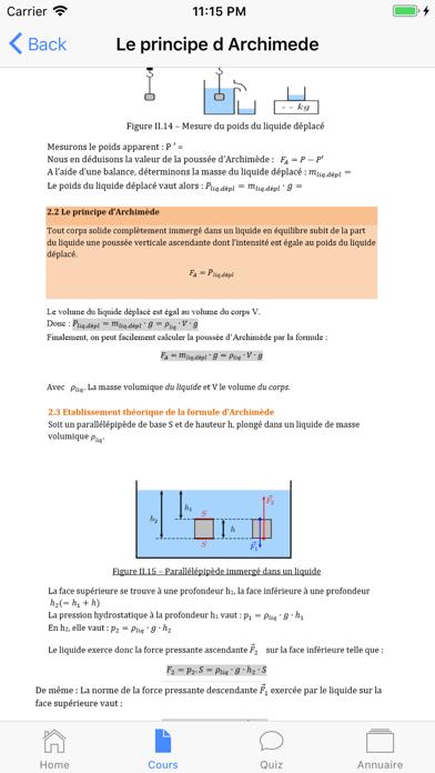 Physique 4ème screenshot 2