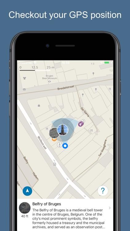 Bruges 2020 — offline map screenshot-3