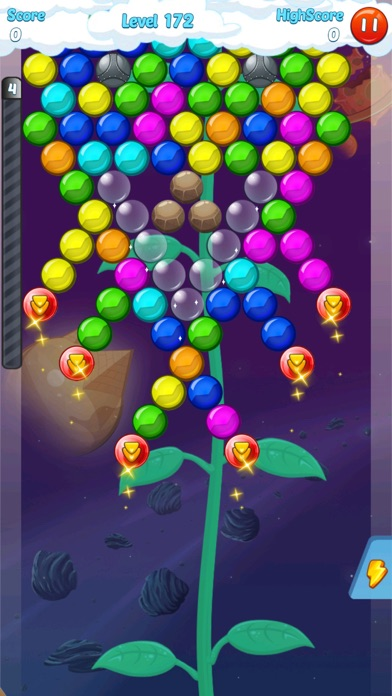 Screenshot of Bubble Shooter 3.0 World1