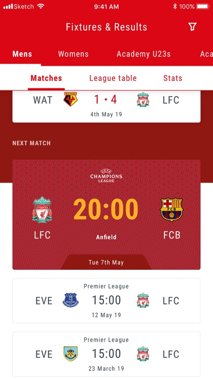 The Official Liverpool FC App screenshot-4
