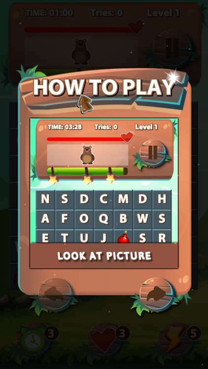 Search Word Funny Game screenshot-3