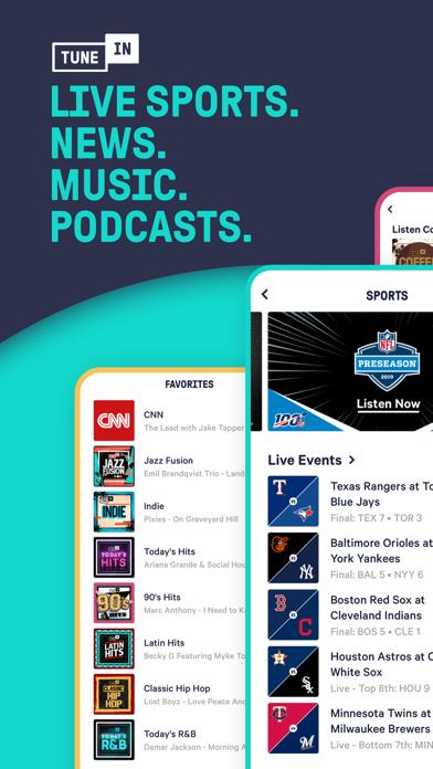 TuneIn Radio App - listen to more than 100,000 radio