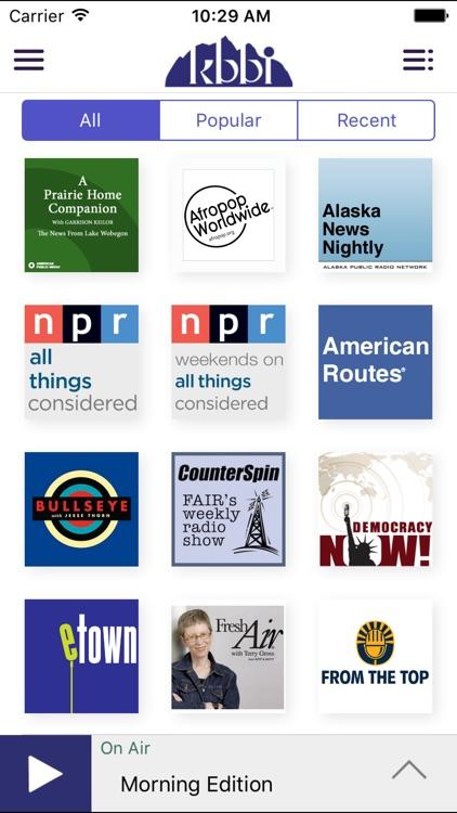 KBBI Public Radio App screenshot-3