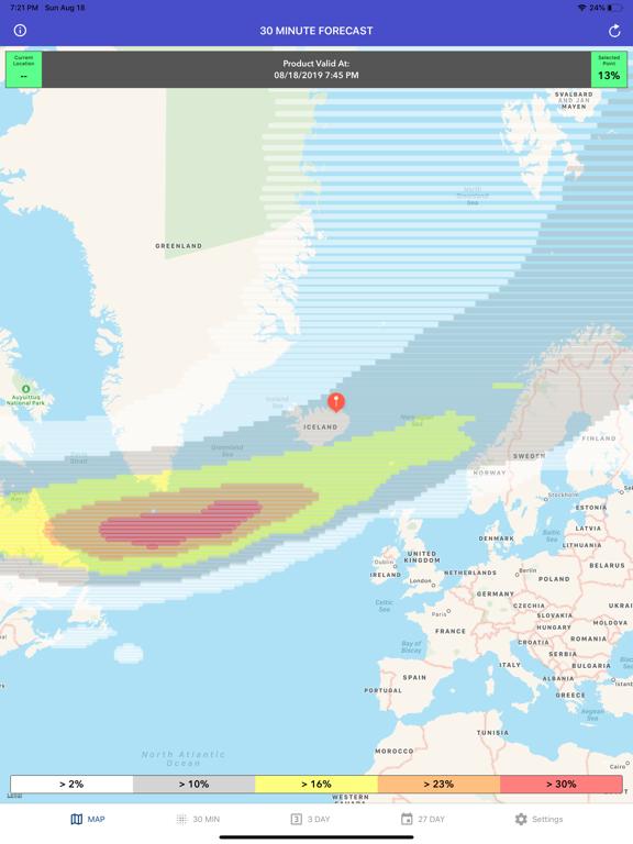 Aurora Forecast & Alerts screenshot 11