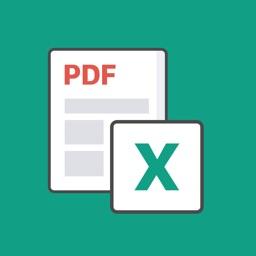 Alto PDF: convert PDF to Excel