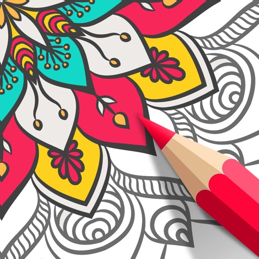 Adult Coloring Book | COLORS iOS App